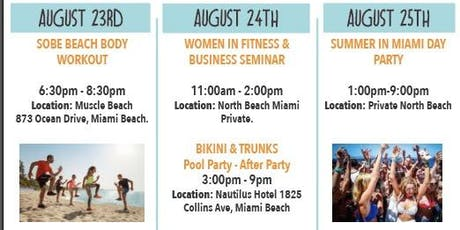 Women in Fitness and Business MIAMI tickets