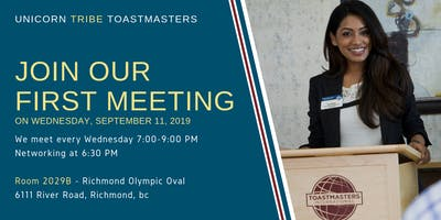 Come to Unicorn Tribe Toastmasters - Become a Confident Communicator