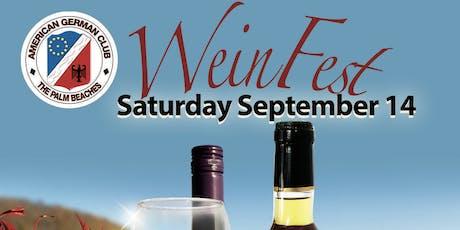 Weinfest 2019 tickets