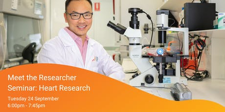 Meet the Researcher Seminar Series: Heart Research tickets