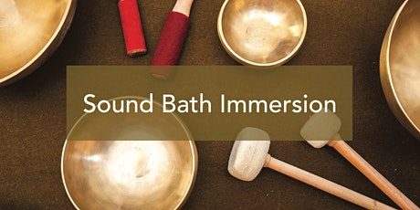 Come unwind with Sound Bath and enjoy deep relaxation – Menlo Park tickets