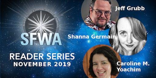 SFWA NW Portland Reading Series - November 2019