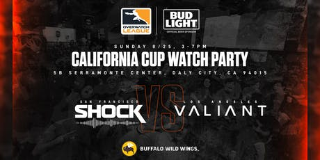 Bud Light x SF Shock Watch Party @ Buffalo Wild Wings tickets