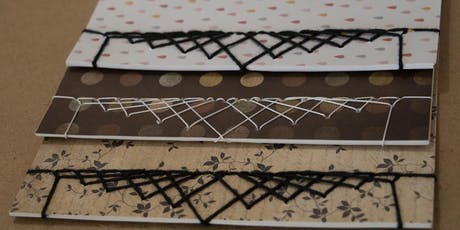 Full Day Introductory Bookbinding (Stab & Pamphlet) Workshop with Jo tickets