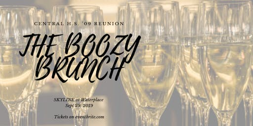 Central '09 Reunion: THE BOOZY BRUNCH