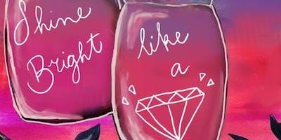 09/15 Shine Bright Like Sip & Paint