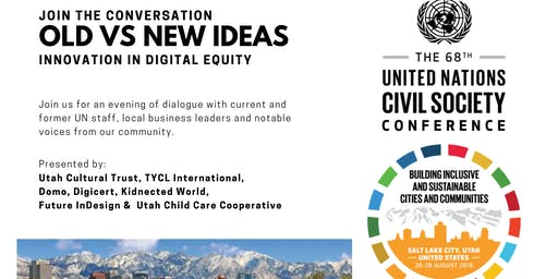 Innovation in Digital Equity - UN Civil Society evening event