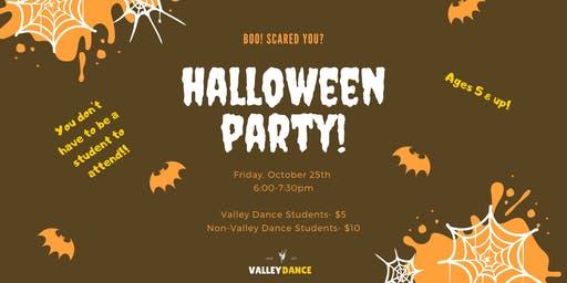 Halloween Party at Valley Dance