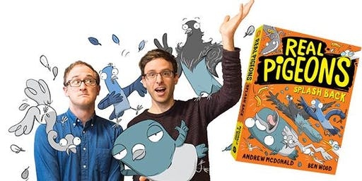 Real Pigeons – author and illustrator event