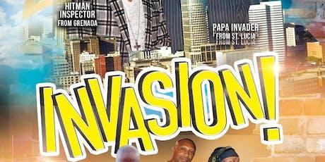 Invasion tickets