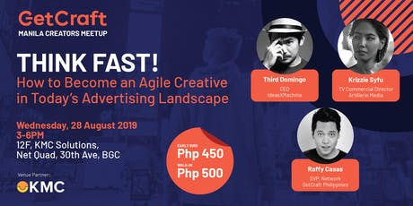 """""""THINK FAST! How to Become an Agile Creative"""" tickets"""