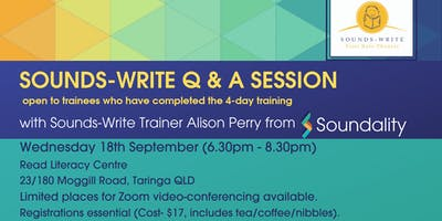 Sounds-Write Q&A session with Alison Perry (Soundality)