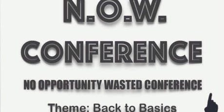 N.O.W. Conference tickets