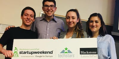 Blackstone LaunchPad - Techstars StartUp Weekend, Syracuse University