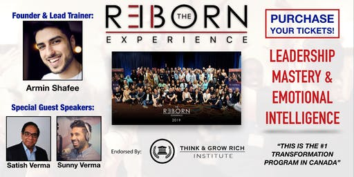 The REBORN Experience March 2020 - Leadership & Emotional Mastery Weekend