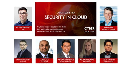 Cyber Tech & Risk - Security in Cloud tickets