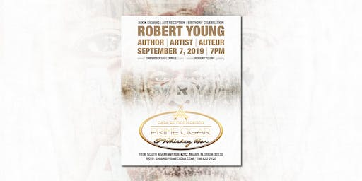 Robert Young Book Signing, Art Reception & Birthday Celebration