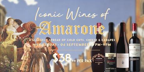 Amarone Wine Tasting tickets