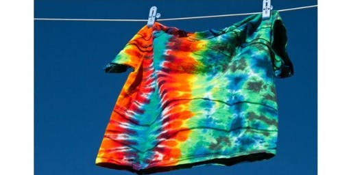 Tie Dye or Bleach Your T-Shirt - School Holiday Program