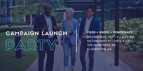 Keep Moving Clarkston Forward - Campaign Launch Party tickets