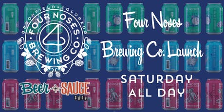Four Noses Brewing Co. Launch tickets