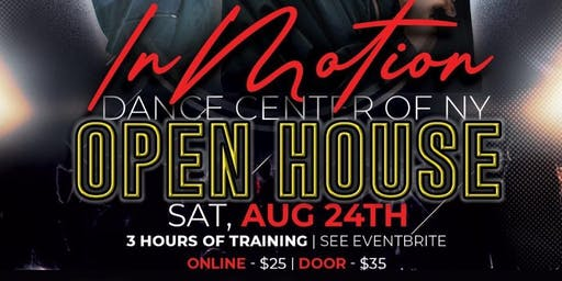 OPEN HOUSE with classes by Justin Conte & Keniche