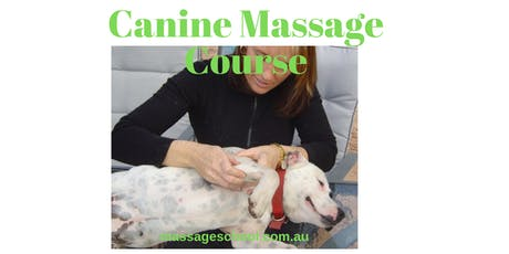 Canine Remedial 1 Massage - 3 Day CPE Event tickets