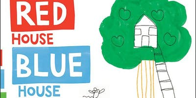 Red House, Blue House, Green house, Tree house- the big build for kids