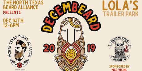 NTBA's DecemBEARD 2019 Beard  & Mustache Comp sponsored by Mad Viking tickets