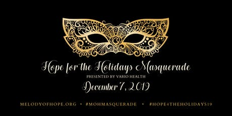 Hope for the Holidays Masquerade tickets