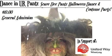 Scare Dee Pantz Halloween Dance & Costume Party in Support United Way YWG tickets