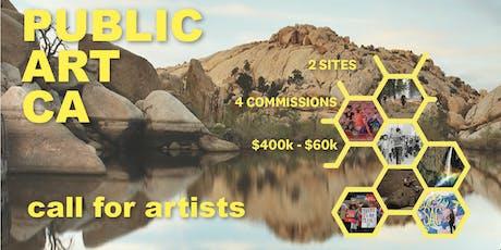 Public Art CA Open Call, Artists Info Session - Sacramento tickets