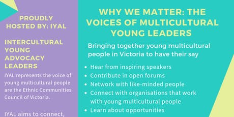 Why We Matter: The Voices of Multicultural Young Leaders tickets