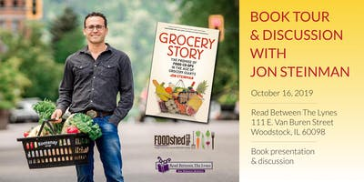 Grocery Story: A Book Talk and Signing with Author Jon Steinman