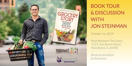 Grocery Story: A Book Talk and Signing with Author Jon Steinman tickets