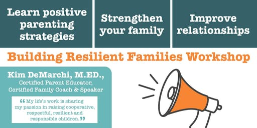 Building Resilient Families Workshop
