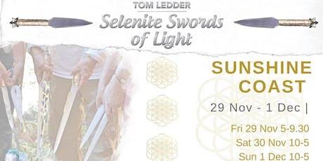 Selenite Sword - Light worker workshops tickets