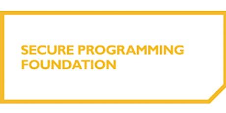 Secure Programming Foundation 2 Days Training in Birmingham tickets