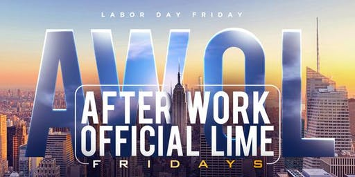 96 DEGREES of SOCA in MANHATTAN | AWOL FRIDAYS | LABORDAY FRIDAY | FREE CARIBBEAN AFTERWORK FETE