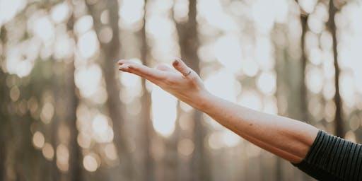 Yoga doux et méditation en nature