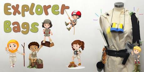 Explorer Bags Children's Eco Art Workshop tickets