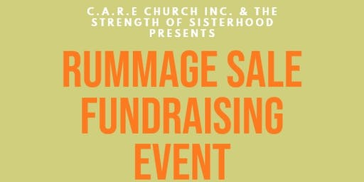 C.A.R.E. Church and The Strength of Sisterhood Rummage Sale