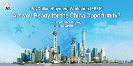 Are you ready for the China Opportunity? tickets