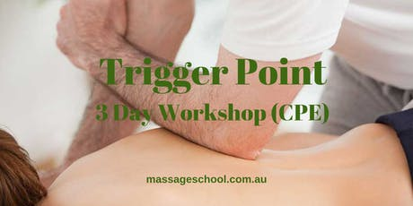 Trigger Point Therapy - 3 Day CPE Event (21hrs) tickets