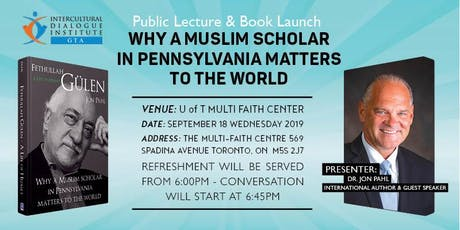 Why A Muslim Scholar in Pennsylvania Matters to the World tickets