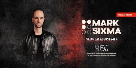 MARK SIXMA tickets