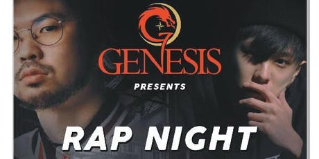 Genesis Presents Rap Night @ Boss Club tickets