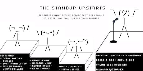 The Standup Upstarts tickets