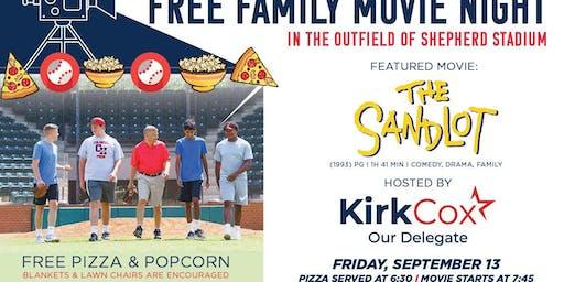 Free Family Outdoor Movie Night