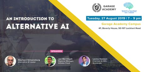 AI Society: An Introduction to Alternative AI  tickets